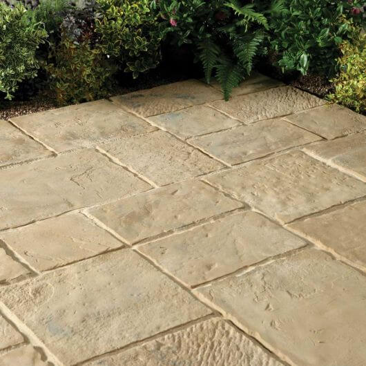 Kelkay Minster Paving Random Patio Kit 5.76m Autumn Brown