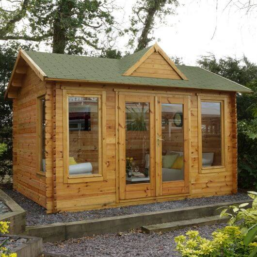 Forest Alderley Log Cabin 4.0m x 3.0m