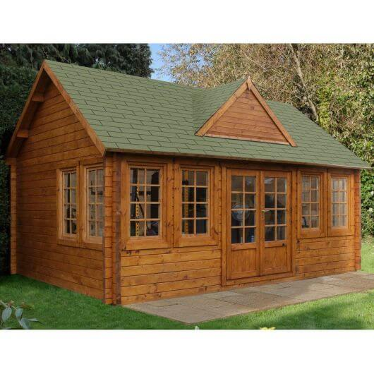 Forest Cheviot Log Cabin 5.5 x 4.0m