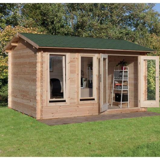Forest Chiltern Log Cabin 4.0m x 3.0m