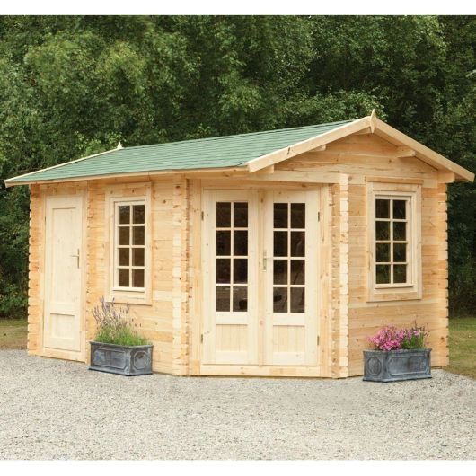 Forest Ripon Log Cabin 4.0m x 2.8m