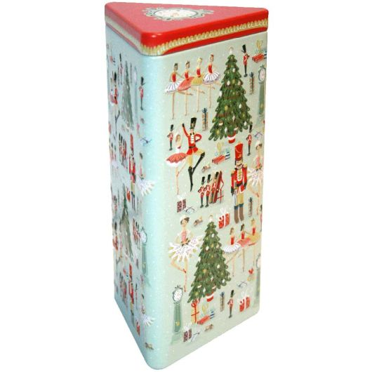 Grandma Wilds Embossed Triangle Nutcracker Tin 150g