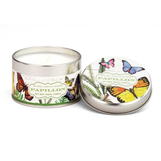 Papillon Soy Wax Travel Candle by Michel Design Works