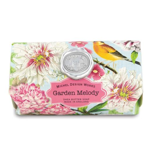 Garden Melody Large Bath Soap by Michel Design Works