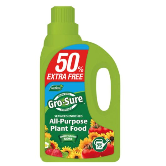Gro-Sure All Purpose Food 1L+50% Extra Free