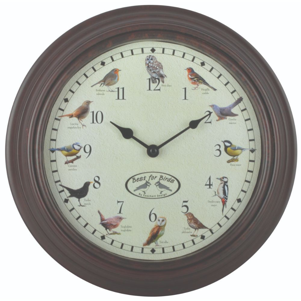Fallen Fruits Bird Song Clock