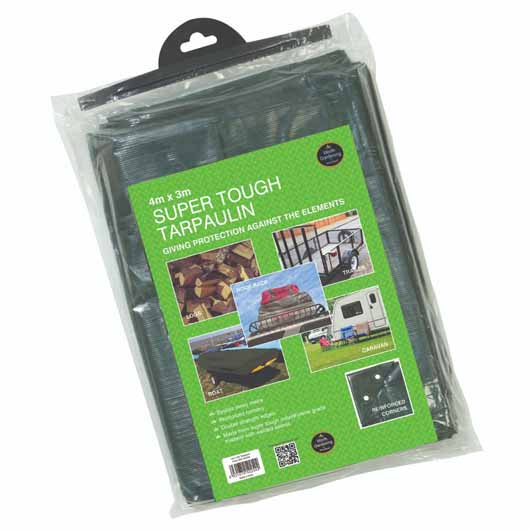 Garland Super Tough Tarpaulin 4 x 3m