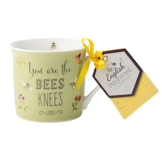 Bee Happy Fine China Mug - you are the Bees Knees
