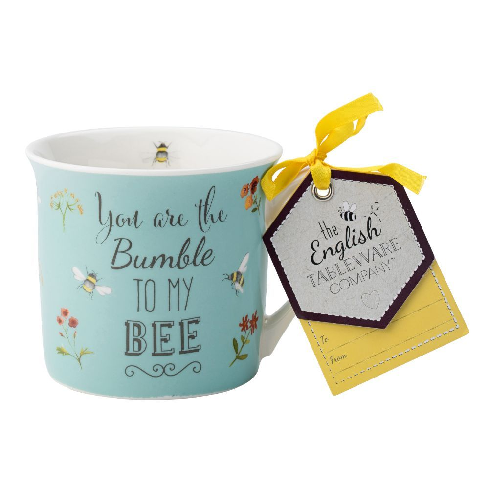 Bee Happy Fine China Mug - You are the Bumble to my Bee