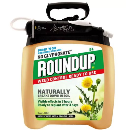 Roundup Natural Weed Control Pump 'n Go 5L