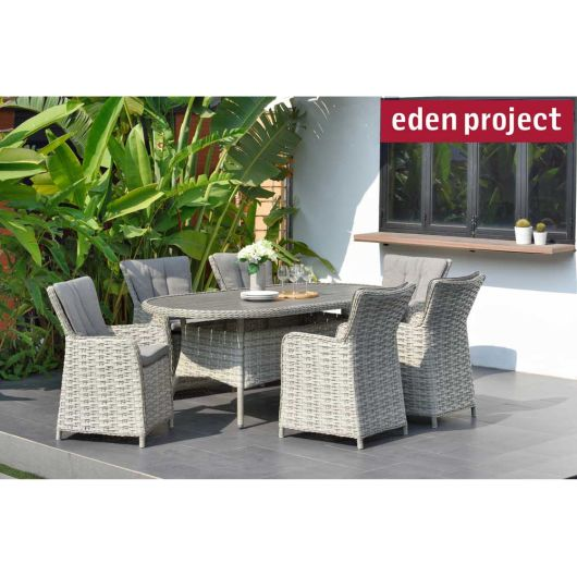 Lifestyle Garden Samoa 6 Seater Dining Set