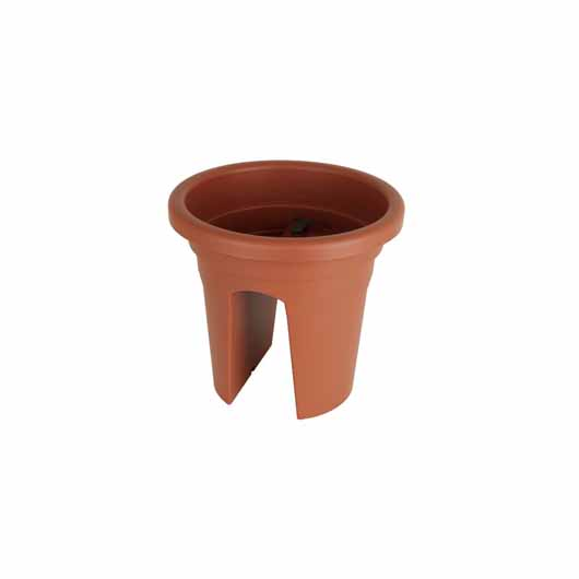 Venezia Balcony Pot 30cm Terracotta