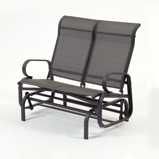 Suntime Havana Twin Glider Seat in Charcoal