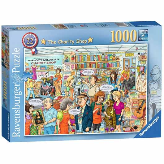 Best of British - The Charity Shop 1000 Piece