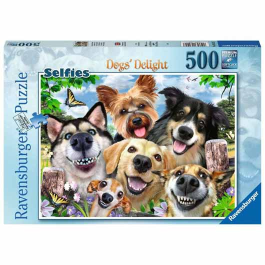 Selfies Dogs' Delight 500 Piece