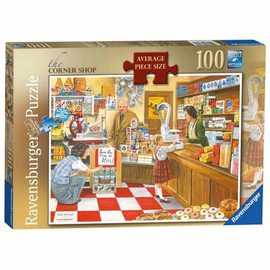The Corner Shop 100 Piece
