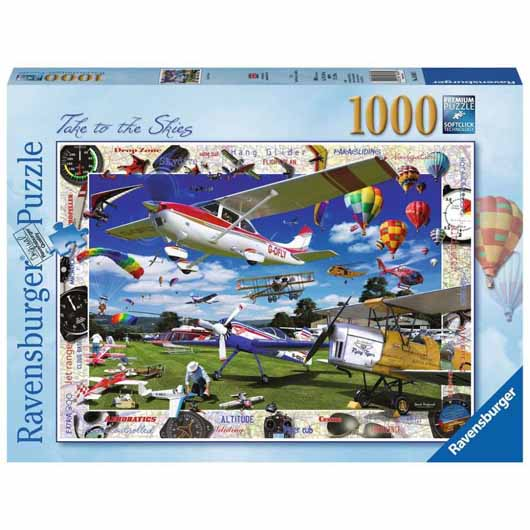 Take to the Skies! 1000 Piece
