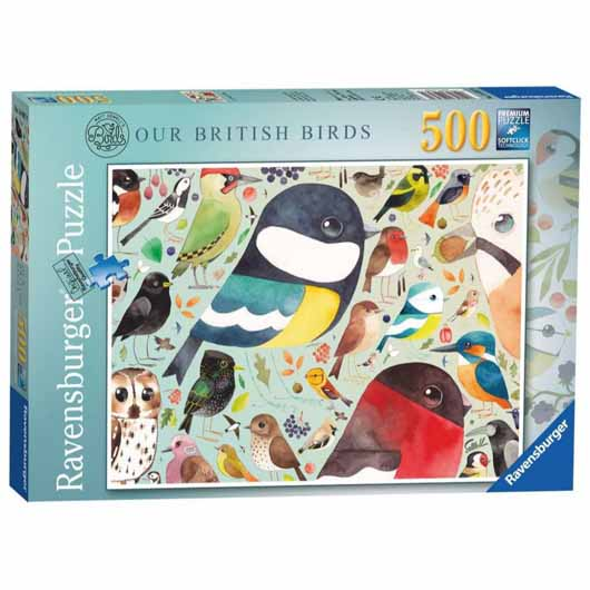 Matt Sewell's Our British Birds 500 Piece