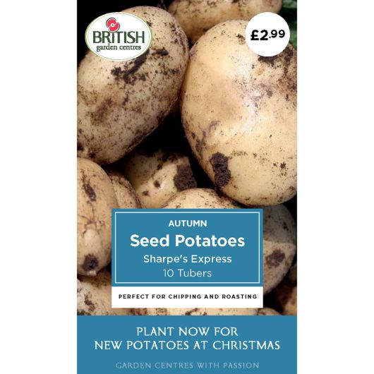 Autumn Seed Potatoes - Sharpe's Express
