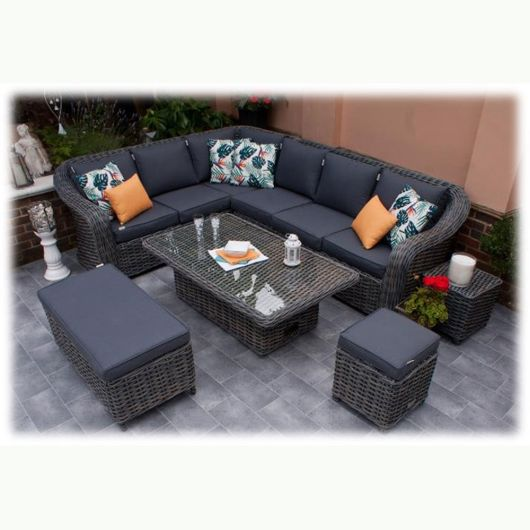 Firmans Miami Grande Corner Dining Set