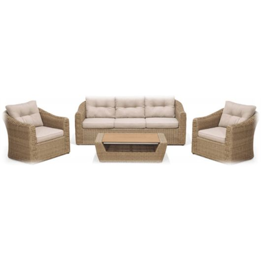 Lifestyle Garden Martinique 5 Seat Lounge Set