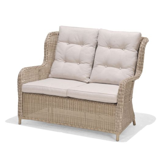 Lifestyle Garden Martinique 2 Seat High Back Sofa