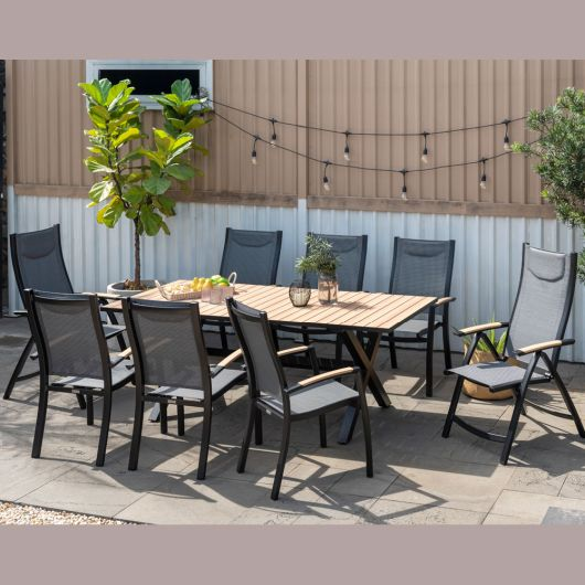 Lifestyle Garden Panama 8 Seater Dining Set