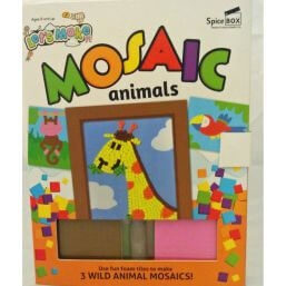 See more information about the Let's Make Mosaic Animals