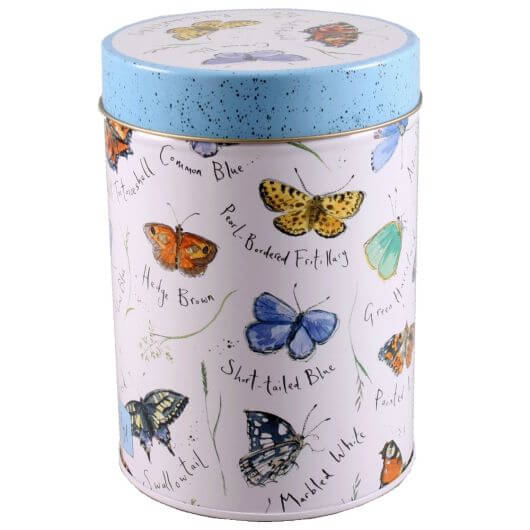 Bramble House Butterfly Caddy With Shortbread Buttons