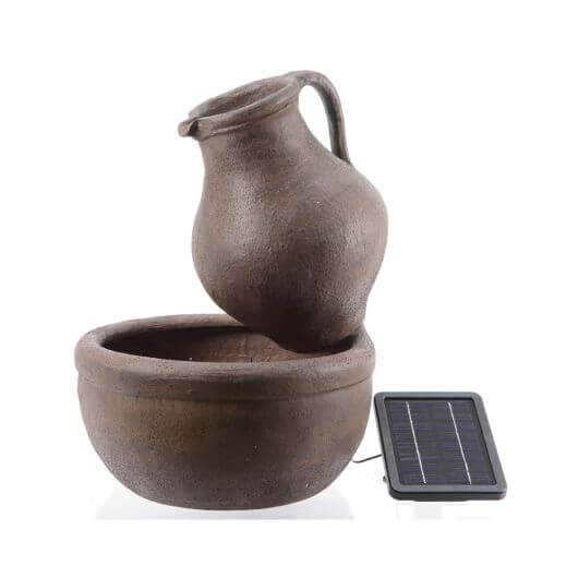 Solar Jug And Bowl Fountain Garden Store Online