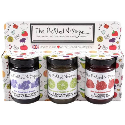 The Pickled Village Indulgent Morning Gift Pack (3x4oz)