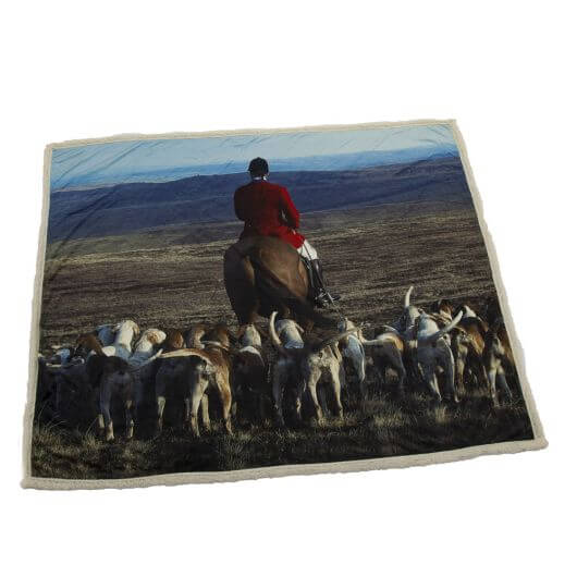 Country Matters Soft Touch Throw - Hounds & Master
