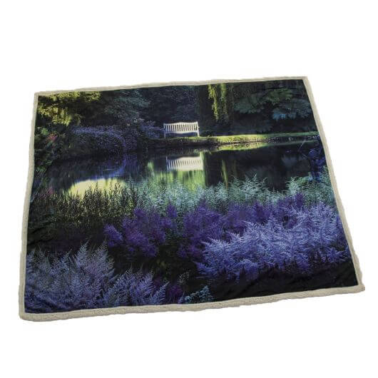 Country Matters Soft Touch Throw - Garden Lake
