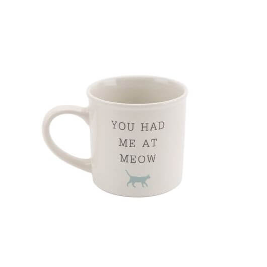 You Had Me At Meow' Best In Show Cat Mug