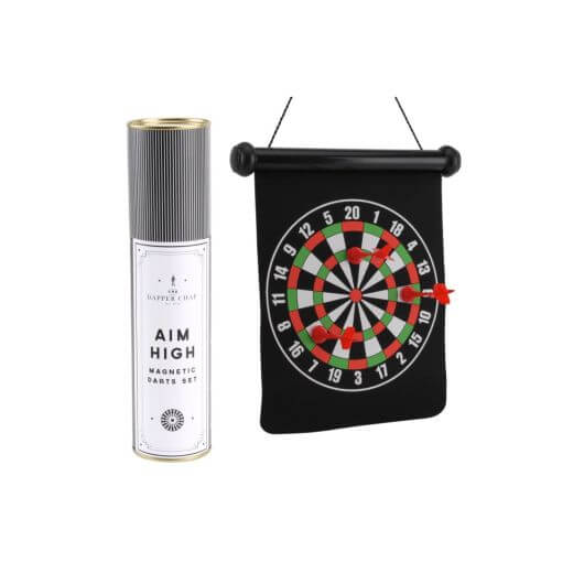 The Dapper Chap 'Aim High' Magnetic Dartboard