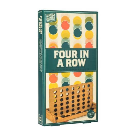 Wooden Games Workshop-Four in a Row