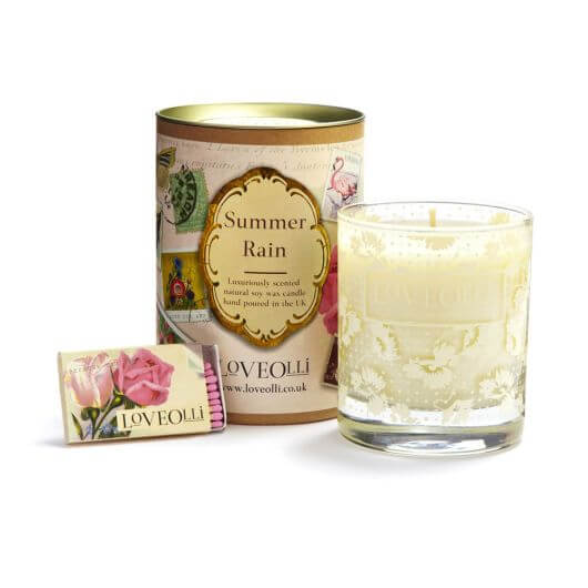 Summer Rain Scented Candle