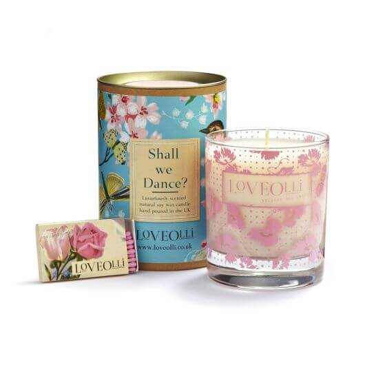 Shall We Dance Scented Candle