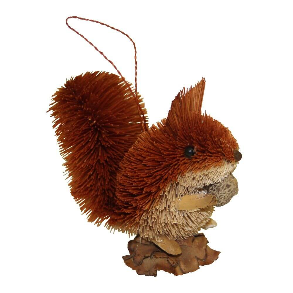 Hanging Squirrel with Nut