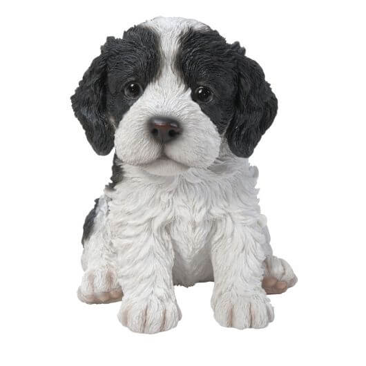 Pet Pals Cockapoo Puppy - Black/White