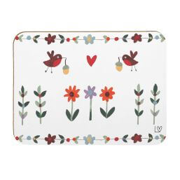 See more information about the Robins and Flowers Placemats