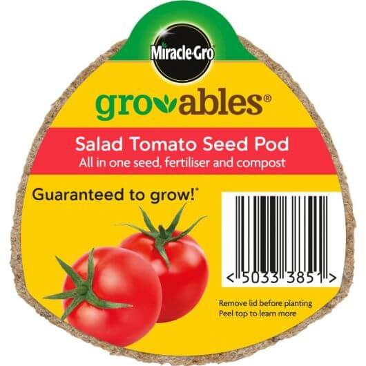 Miracle-Gro Groables Salad Tomato Seed Pod
