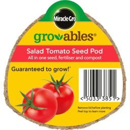 See more information about the Miracle-Gro Groables Salad Tomato Seed Pod