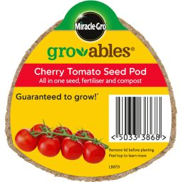 See more information about the Miracle-Gro Groables Cherry Tomato Seed Pod