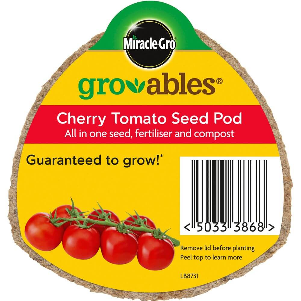 Miracle gro groables cherry tomato seed pod garden store for How to grow cherry tomatoes from seeds