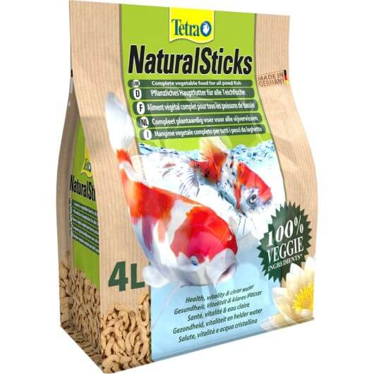 Tetra Pond Natural Sticks - 4 Litre