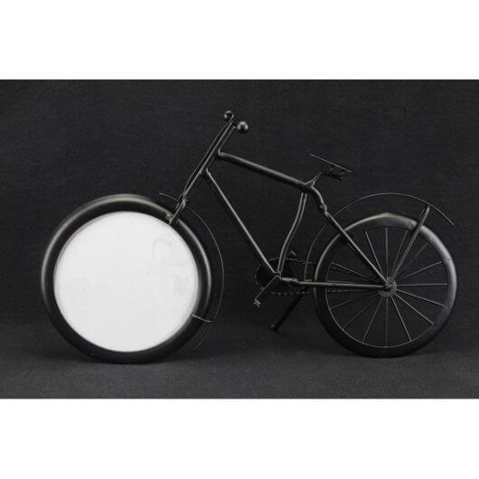 Black Metal Bicycle Picture Frame