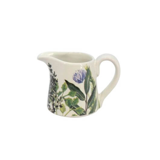 Herbs Small Ceramic Jug