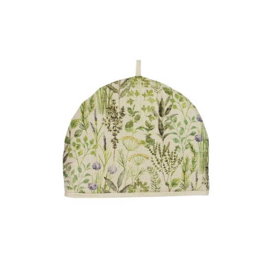 Herb Design Fabric Tea Cosy