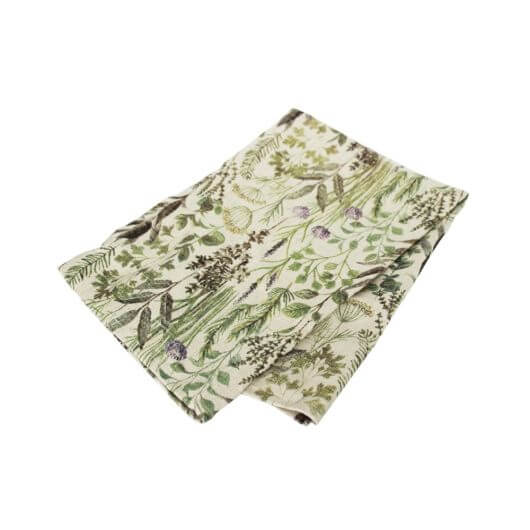 Herb Design Fabric T-Towel
